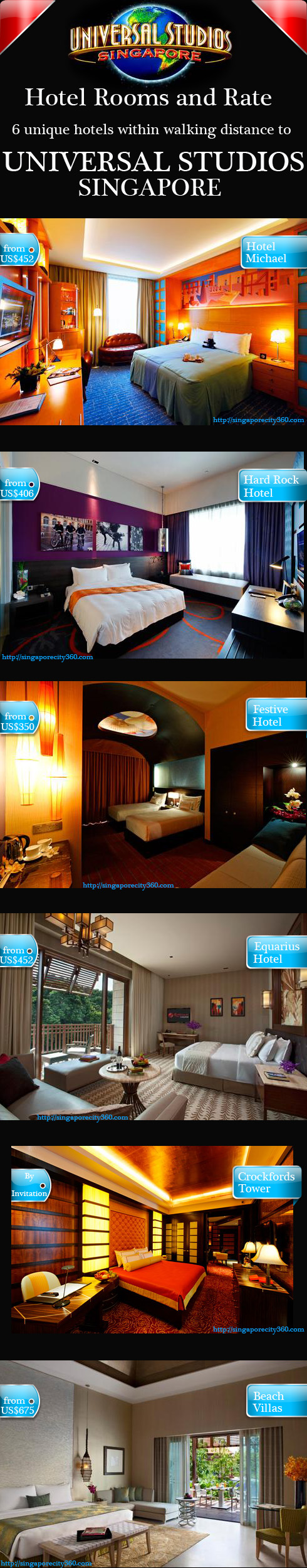 Hotels in the universal studio singapore resort world sentosa resorts world sentosa hotel room rate comparison table gumiabroncs Gallery