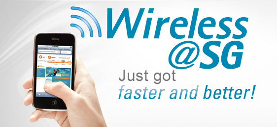 Free Wifi Services for all Singapore Tourists  Dial * 186 for more