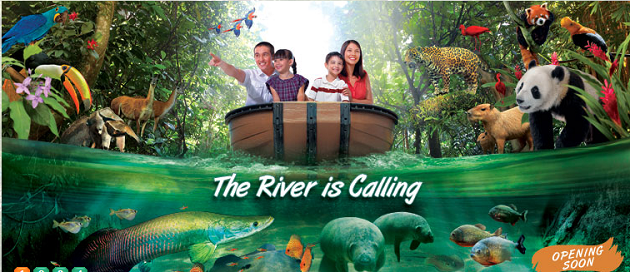 River Safari - Asia?s first and only river themed wildlife park